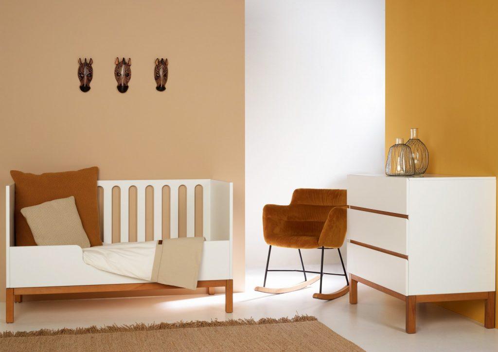 Chambre complète Quax, modèle Indigo White