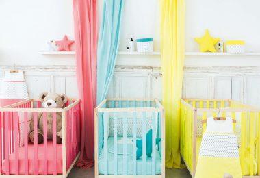 Lit bébé barreaux 60x120 cm - Bonton