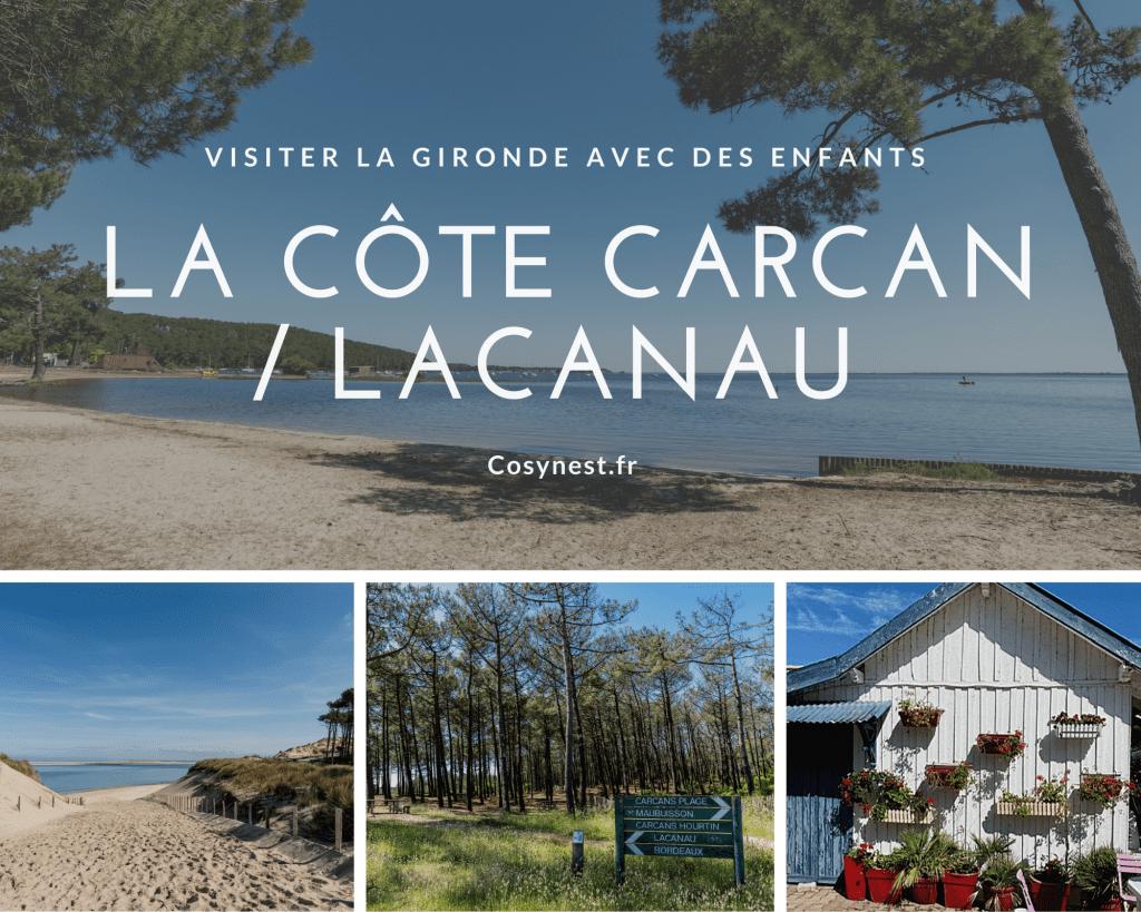 Visiter Carcan Lacanau avec des enfants