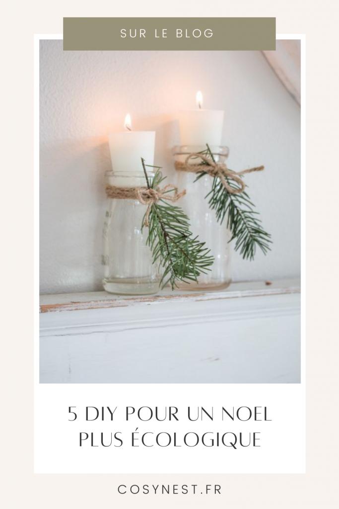 Pinterest graphics - DIY Noel