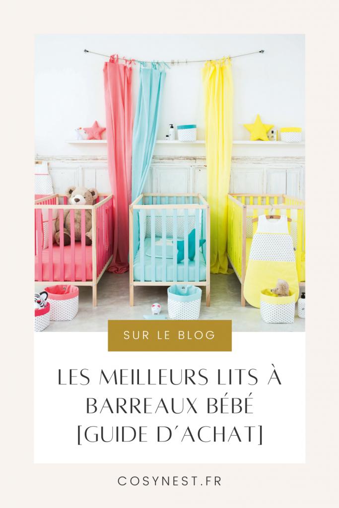 Pinterest graphics Lit à barreaux bébé