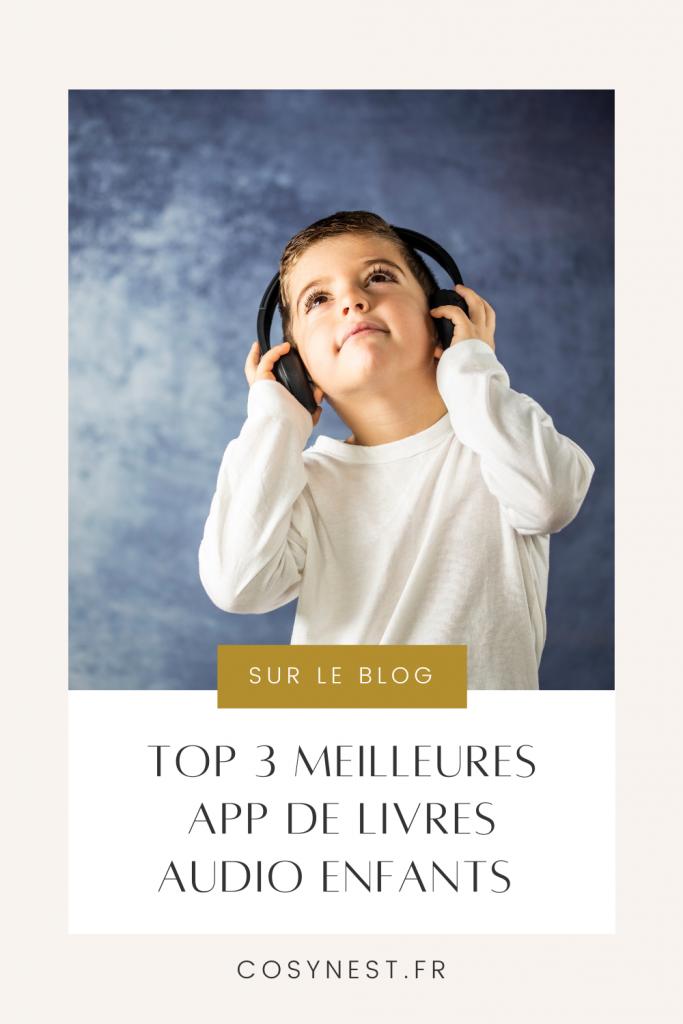 TOP 3 applications de livres audio enfants Pinterest Graphics