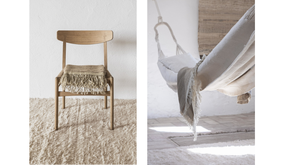 Tapis Afghan - Collection Wellbeing Nanimarquina & Isle Crawford