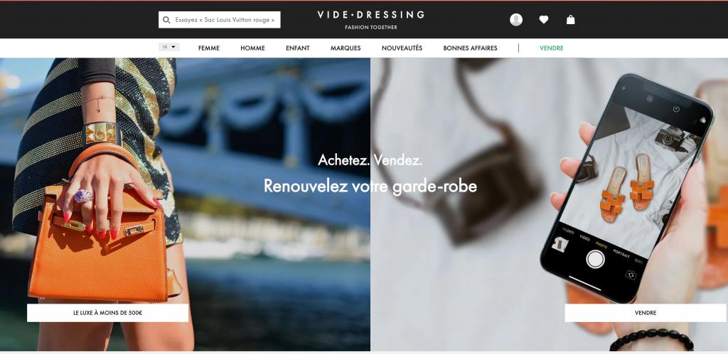 Screenshot - Vide dressing