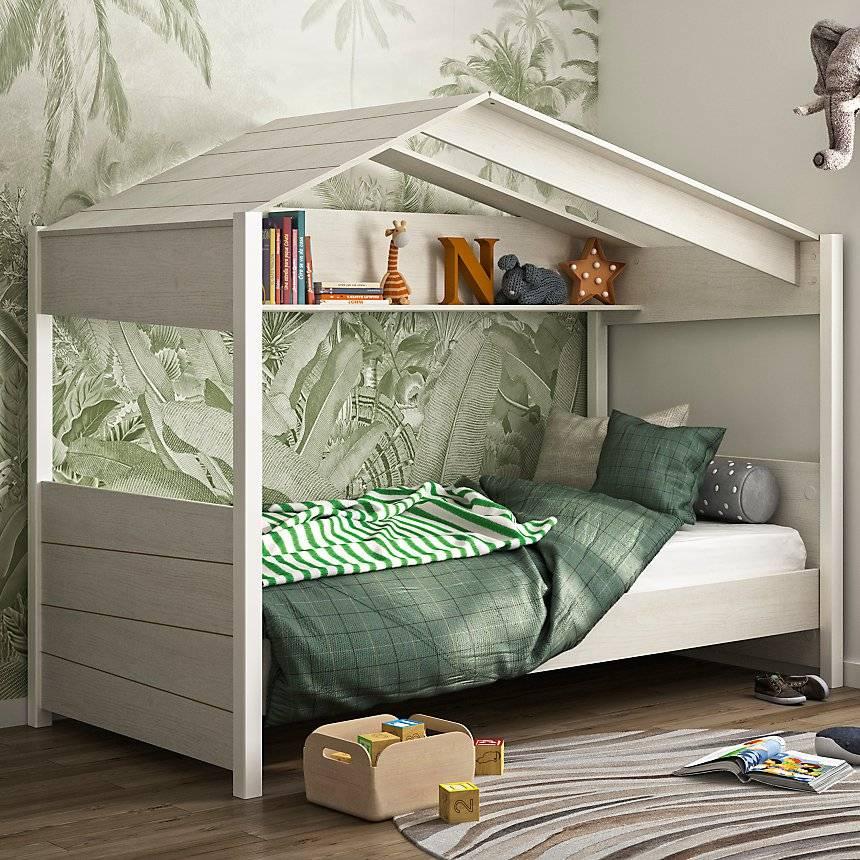 Lit cabane maisonette Guenia - Camif