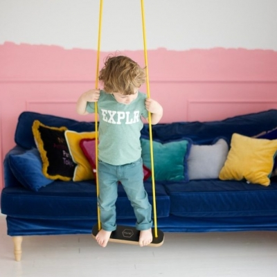 balancoire enfants salon