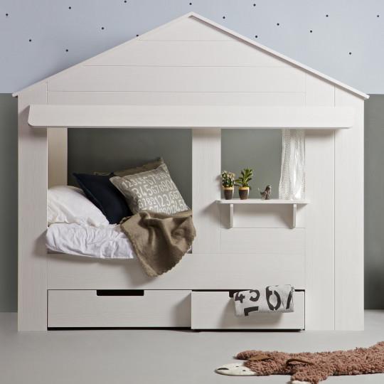 lit cabane maisonnette Alix