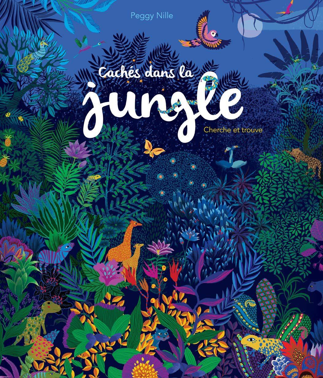 dans la jungle_livre enfant 3-5 ans