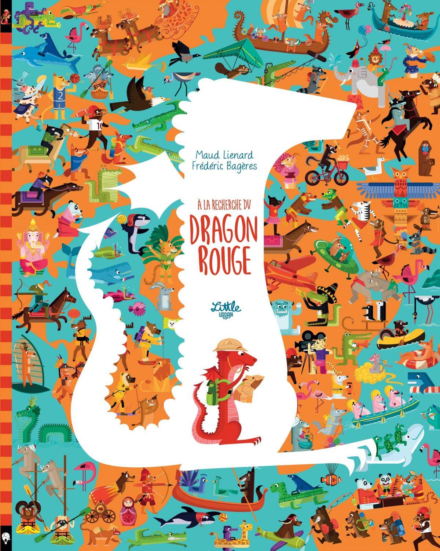 le dragon rouge_livre enfant 3-5 ans