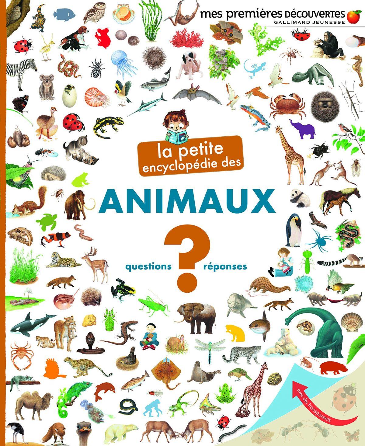 petite encyclopédie des animaux_livre enfant 3-5 ans
