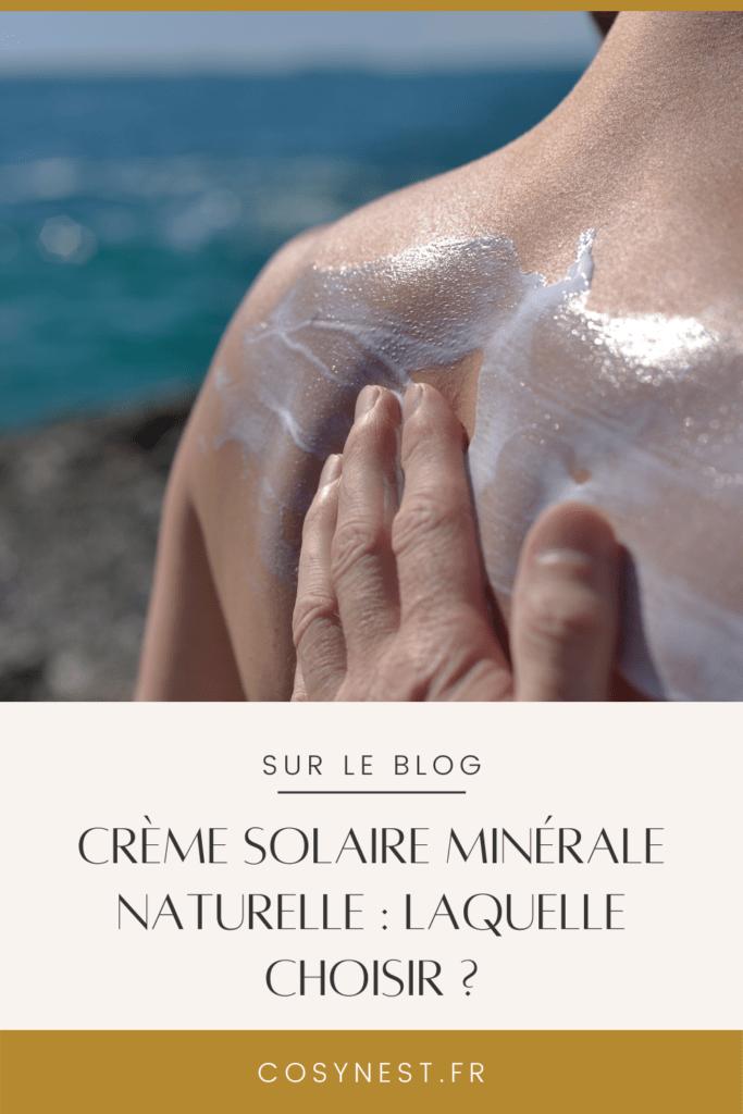 Pinterest Graphics _ crèmes solaires minérales