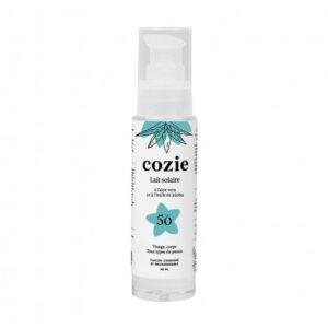 lait solaire minéral spf 50, Cozie